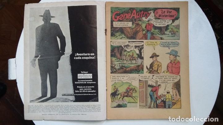 Tebeos: Gene Autry n° 151 - original editorial Novaro - Foto 2 - 114112739