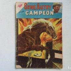 Tebeos: GENE AUTRY N° 86 - CAMPEÓN - ORIGINAL EDITORIAL NOVARO. Lote 114113199