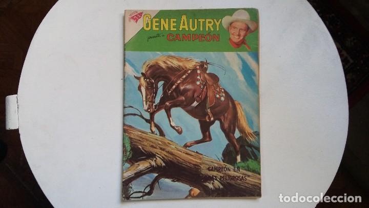 GENE AUTRY N° 77 - CAMPEÓN (EXCELENTE) - ORIGINAL EDITORIAL NOVARO (Tebeos y Comics - Novaro - Roy Roger)