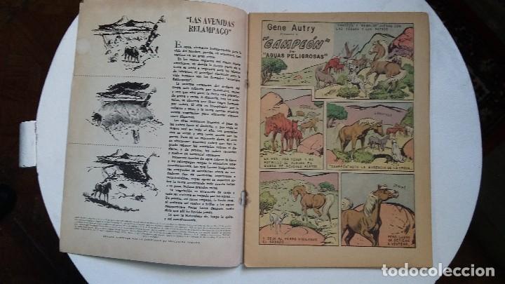 Tebeos: Gene Autry n° 77 - Campeón (excelente) - original editorial Novaro - Foto 2 - 114113387