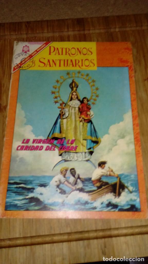 PATRONOS Y SANTUARIOS Nº 3 NOVARO (Tebeos y Comics - Novaro - Otros)