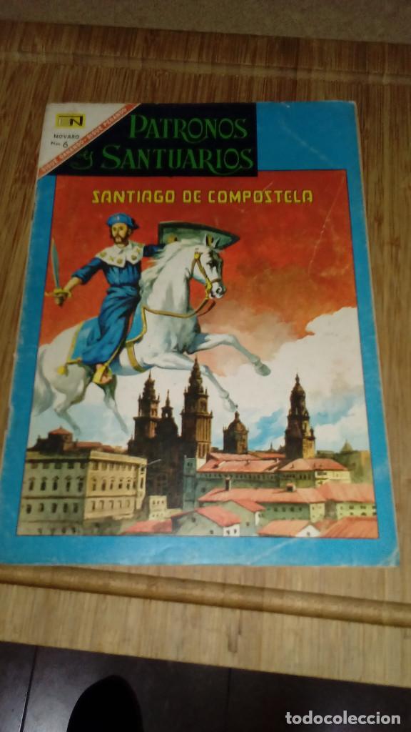 PATRONOS Y SANTUARIOS Nº 9 NOVARO (Tebeos y Comics - Novaro - Otros)