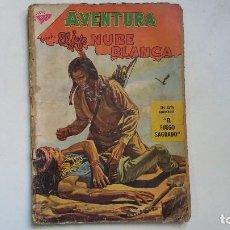 Tebeos: AVENTURA N° 144 - EL JEFE NUBE BLANCA - ORIGINAL EDITORIAL NOVARO. Lote 114507579