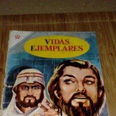 Tebeos: VIDAS EJEMPLARES Nº 15 NOVARO MUY DIFICIL. Lote 114567883