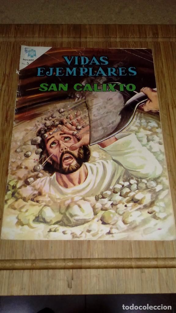VIDAS EJEMPLARES Nº 225 NOVARO (Tebeos y Comics - Novaro - Vidas ejemplares)