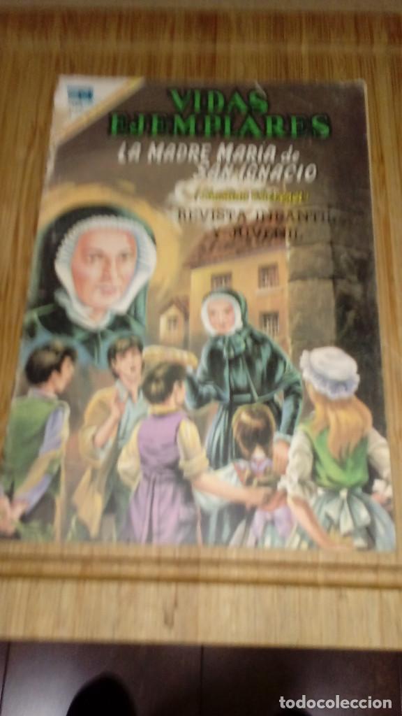 VIDAS EJEMPLARES Nº 295 NOVARO DIFICIL (Tebeos y Comics - Novaro - Vidas ejemplares)