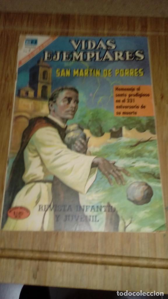 VIDAS EJEMPLARES Nº 327 NOVARO (Tebeos y Comics - Novaro - Vidas ejemplares)