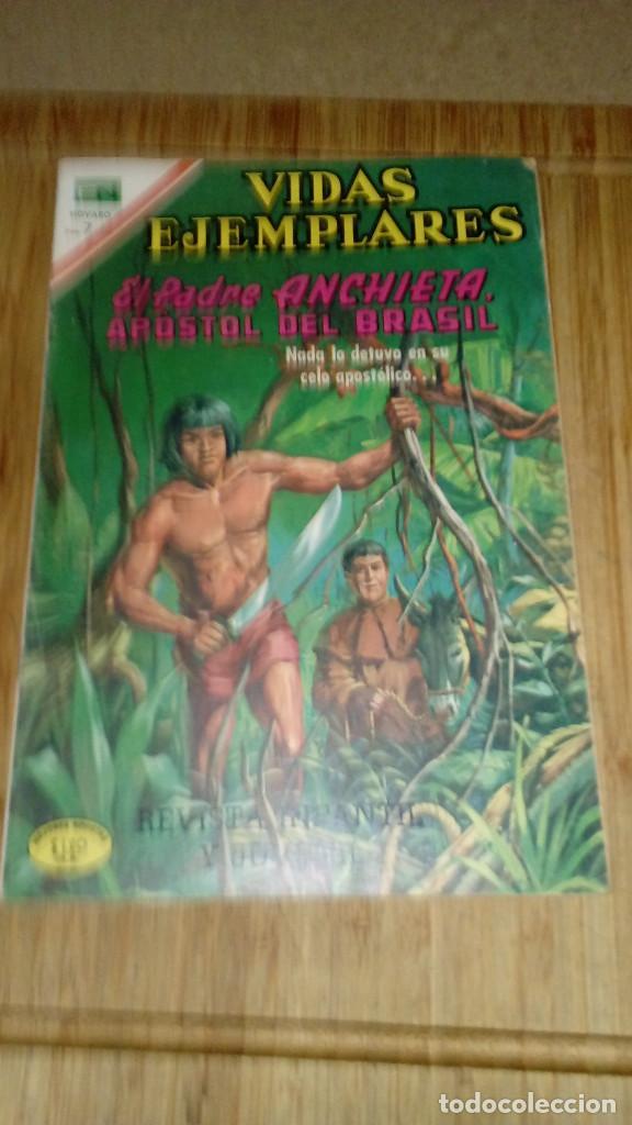 VIDAS EJEMPLARES Nº 328 NOVARO (Tebeos y Comics - Novaro - Vidas ejemplares)