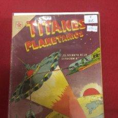 Tebeos: TITANES PLANETARIOS NUMERO 7 BUEN ESTADO REF.19. Lote 114952931