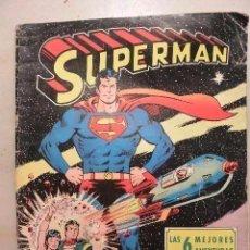 Tebeos: TEBEO LAS 6 MEJORES AVENTURAS DE SUPERMAN. Lote 114997747
