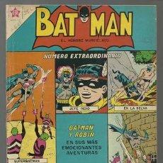 Tebeos: BATMAN, EXTRAORDINARIO 1 DE JUNIO DE 1963, EDICIONES RECREATIVAS, PROCEDENTE DE ENCUADERNACIÓN. Lote 115064307
