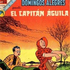 Tebeos: DOMINGOS ALEGRES Nº 995, 1006 AÑO 1973 CAJA 8+ BIBLIOETCA IZQ. ARRIBA. Lote 115095099