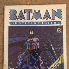 Tebeos: BATMAN JUSTICIA DIGITAL. Lote 115114451