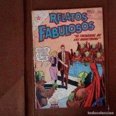 Tebeos: RELATOS FABULOSOS NÚMERO 31, AÑO 1962. EL TRIBUNAL DE LOS MONSTRUOS.. Lote 115162099