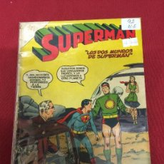 Tebeos: SUPERMAN NUMERO 92 NORMAL ESTADO REF.19. Lote 115374227
