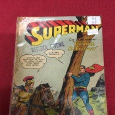 Tebeos: SUPERMAN NUMERO 97 BUEN ESTADO REF.19. Lote 115374427