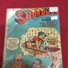 Tebeos: SUPERMAN NUMERO 104 NORMAL ESTADO REF.19. Lote 115378575