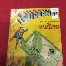 Tebeos: SUPERMAN NUMERO 110 NORMAL ESTADO REF.19. Lote 115378679