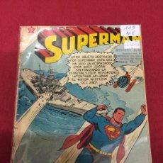 Tebeos: SUPERMAN NUMERO 115 NORMAL ESTADO REF.19. Lote 115378699