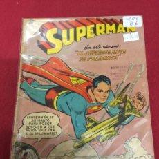 Tebeos: SUPERMAN NUMERO 106 BUEN ESTADO REF.19. Lote 115378839
