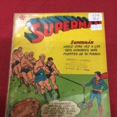Tebeos: SUPERMAN NUMERO 108 BUEN ESTADO REF.19. Lote 115378859