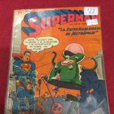 Tebeos: SUPERMAN NUMERO 124 BUEN ESTADO REF.19. Lote 115378879