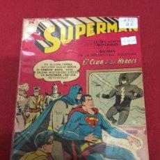 Tebeos: SUPERMAN NUMERO 130 BUEN ESTADO REF.19. Lote 115378935