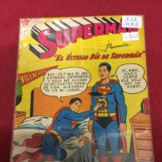 Tebeos: SUPERMAN NUMERO 212 BUEN ESTADO REF.19. Lote 115378975