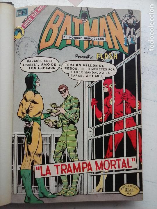 BATMAN EL HOMBRE MURCIELAGO - 12 NºS TOMO MUY BIEN CONSERVADOS (Tebeos y Comics - Novaro - Batman)