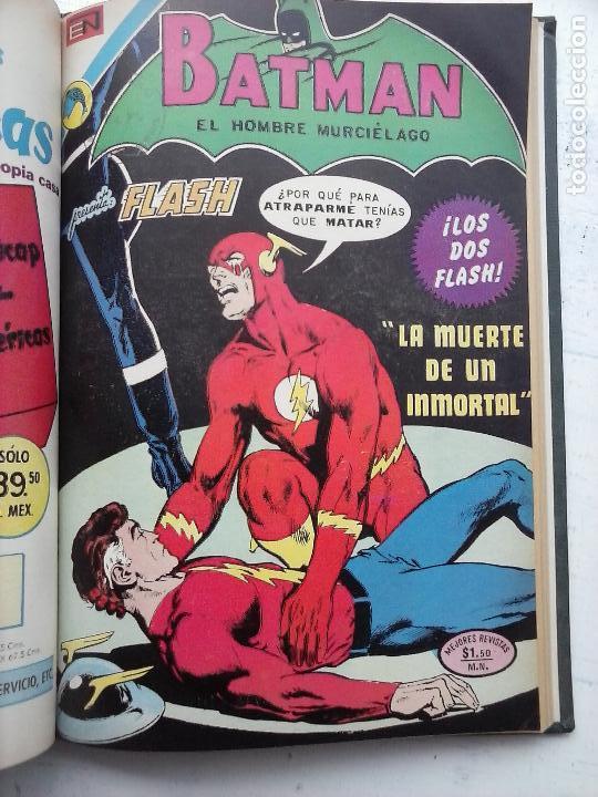 Tebeos: BATMAN EL HOMBRE MURCIELAGO - 12 NºS TOMO MUY BIEN CONSERVADOS - Foto 16 - 115743847