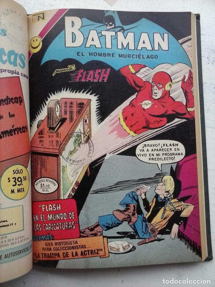 Tebeos: BATMAN EL HOMBRE MURCIELAGO - 12 NºS TOMO MUY BIEN CONSERVADOS - Foto 20 - 115743847