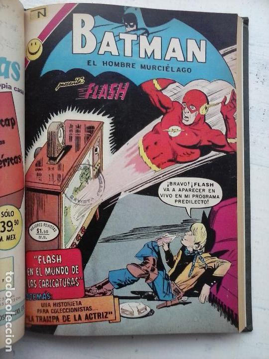 Tebeos: BATMAN EL HOMBRE MURCIELAGO - 12 NºS TOMO MUY BIEN CONSERVADOS - Foto 21 - 115743847