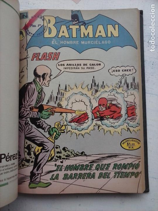 Tebeos: BATMAN EL HOMBRE MURCIELAGO - 12 NºS TOMO MUY BIEN CONSERVADOS - Foto 23 - 115743847