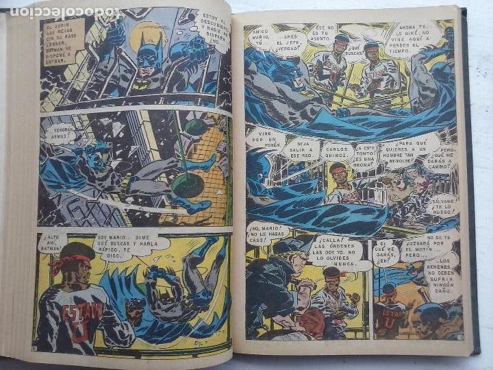 Tebeos: BATMAN EL HOMBRE MURCIELAGO - 12 NºS TOMO MUY BIEN CONSERVADOS - Foto 24 - 115743847