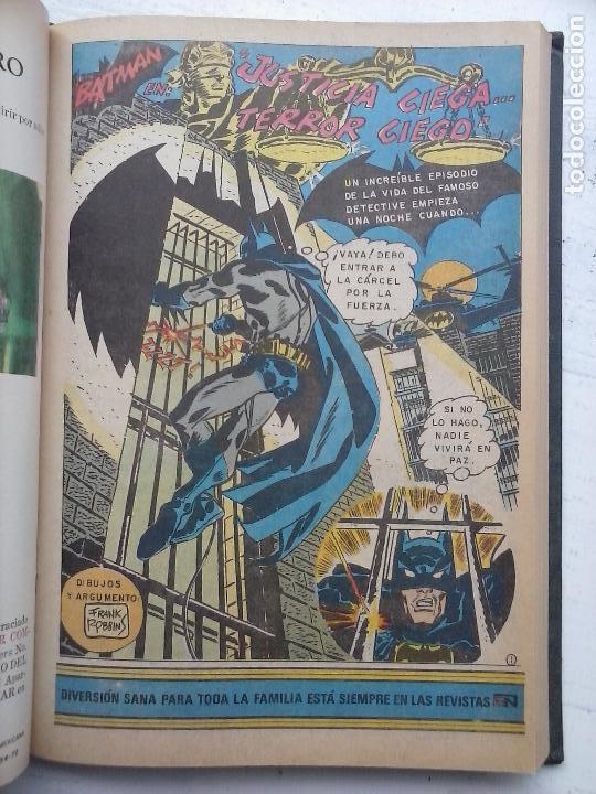 Tebeos: BATMAN EL HOMBRE MURCIELAGO - 12 NºS TOMO MUY BIEN CONSERVADOS - Foto 25 - 115743847