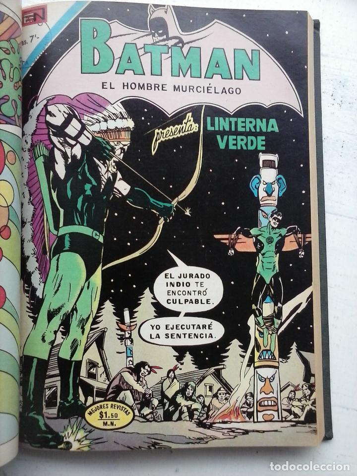 Tebeos: BATMAN EL HOMBRE MURCIELAGO - 12 NºS TOMO MUY BIEN CONSERVADOS - Foto 28 - 115743847