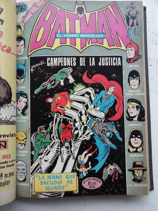 Tebeos: BATMAN EL HOMBRE MURCIELAGO - 12 NºS TOMO MUY BIEN CONSERVADOS - Foto 39 - 115743847