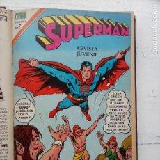 Tebeos: SUPERMAN NOVARO - 12 TEBEOS MUY BIEN CONSERVADOS. Lote 115747059