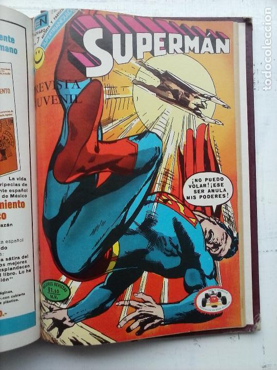 Tebeos: SUPERMAN NOVARO - 12 TEBEOS MUY BIEN CONSERVADOS - Foto 3 - 115747059