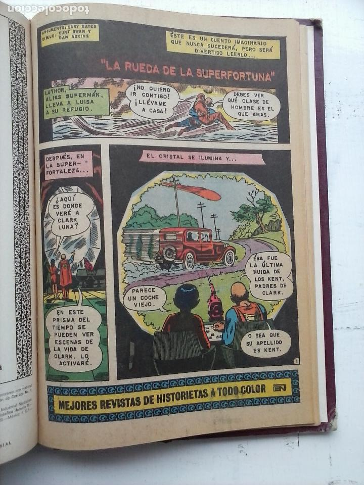 Tebeos: SUPERMAN NOVARO - 12 TEBEOS MUY BIEN CONSERVADOS - Foto 4 - 115747059