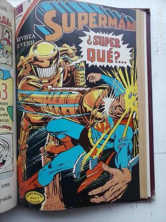 Tebeos: SUPERMAN NOVARO - 12 TEBEOS MUY BIEN CONSERVADOS - Foto 5 - 115747059