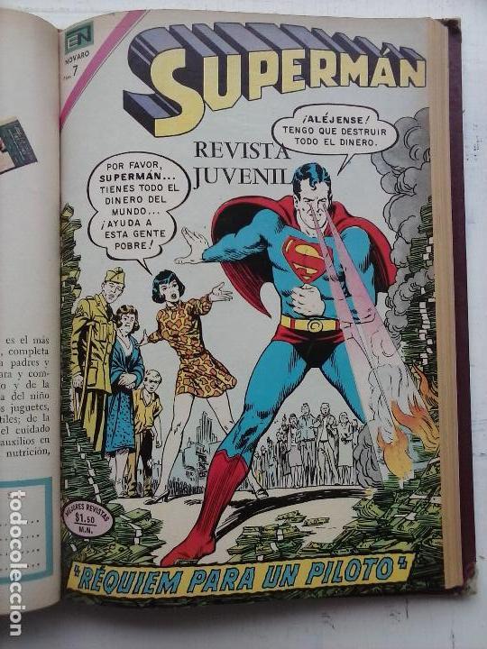 Tebeos: SUPERMAN NOVARO - 12 TEBEOS MUY BIEN CONSERVADOS - Foto 7 - 115747059