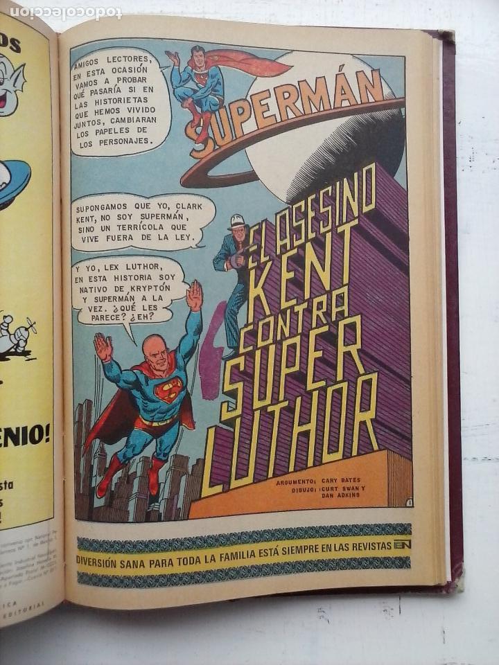 Tebeos: SUPERMAN NOVARO - 12 TEBEOS MUY BIEN CONSERVADOS - Foto 8 - 115747059