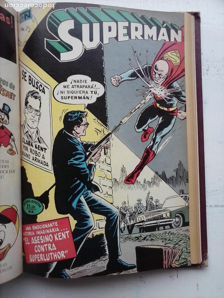 Tebeos: SUPERMAN NOVARO - 12 TEBEOS MUY BIEN CONSERVADOS - Foto 9 - 115747059