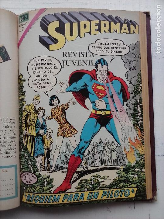 Tebeos: SUPERMAN NOVARO - 12 TEBEOS MUY BIEN CONSERVADOS - Foto 11 - 115747059