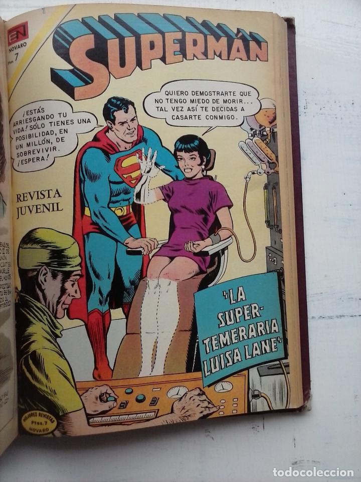 Tebeos: SUPERMAN NOVARO - 12 TEBEOS MUY BIEN CONSERVADOS - Foto 15 - 115747059
