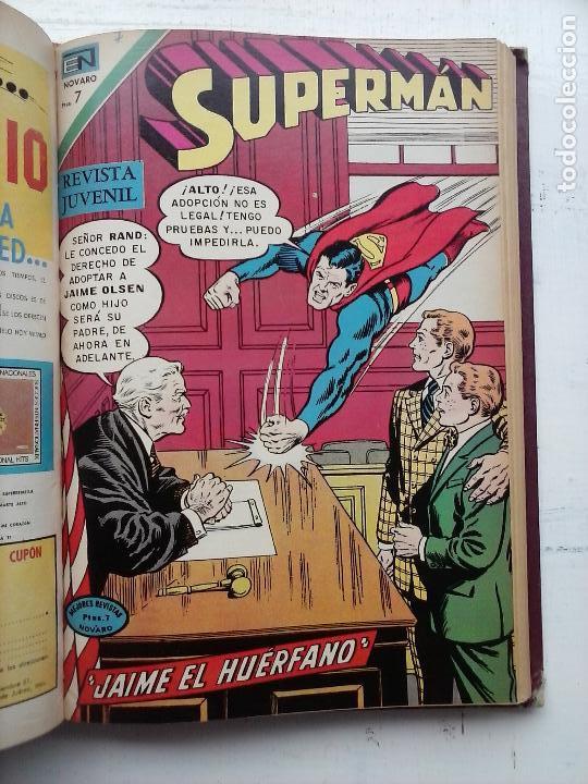 Tebeos: SUPERMAN NOVARO - 12 TEBEOS MUY BIEN CONSERVADOS - Foto 18 - 115747059