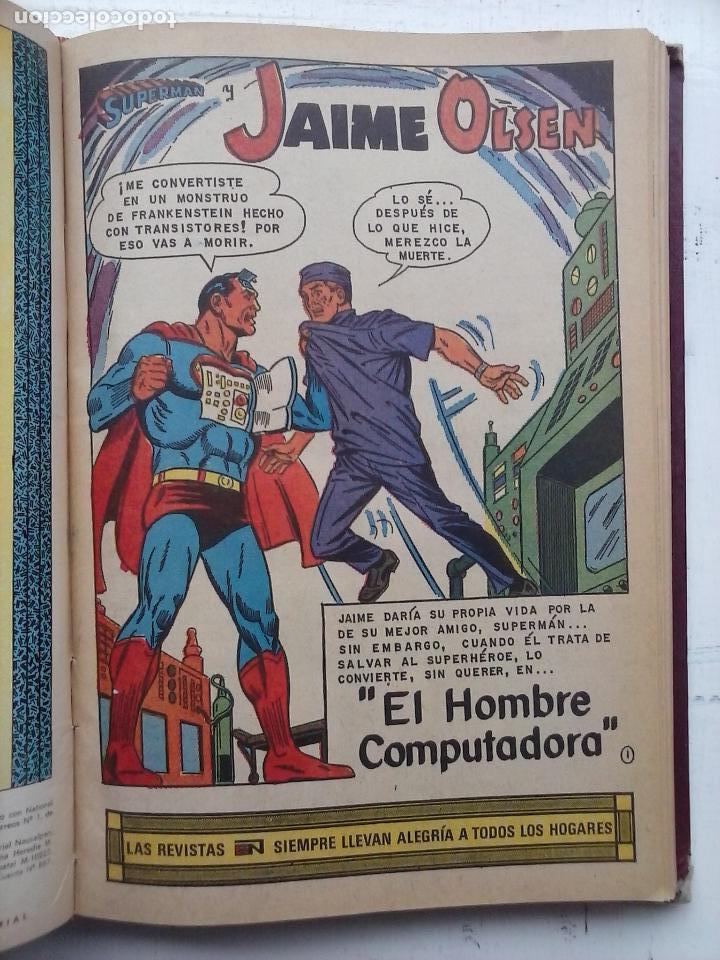 Tebeos: SUPERMAN NOVARO - 12 TEBEOS MUY BIEN CONSERVADOS - Foto 20 - 115747059