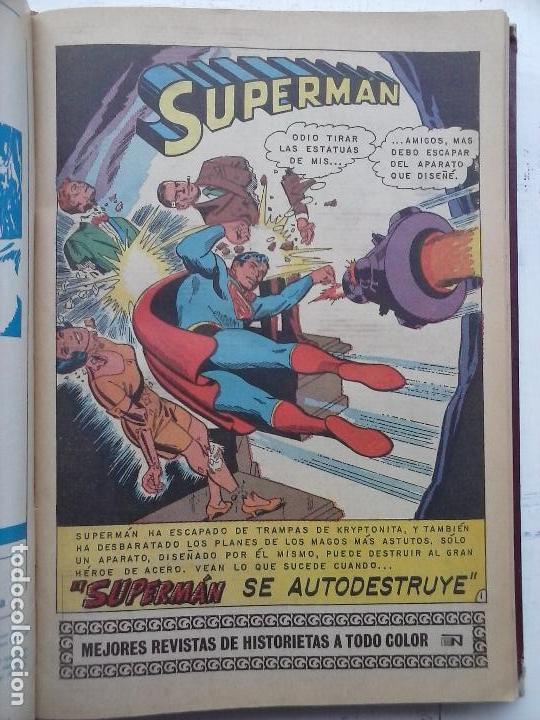 Tebeos: SUPERMAN NOVARO - 12 TEBEOS MUY BIEN CONSERVADOS - Foto 23 - 115747059