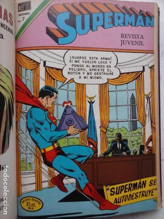 Tebeos: SUPERMAN NOVARO - 12 TEBEOS MUY BIEN CONSERVADOS - Foto 24 - 115747059